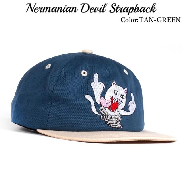 RIPNDIP リップンディップ Nermanian Devil Strapback