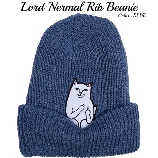 RIPNDIP リップンディップ Lord Nermal Rib Beanie