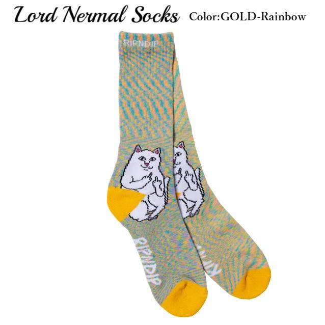 RIPNDIP リップンディップ Lord Nermal Socks