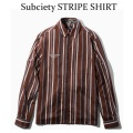 Subciety STRIPE SHIRT