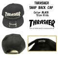 THRASHER スラッシャー THRASHER SNAP BACK CAP