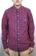セール50%オフ LRG エルアールジー エルアールジー FRANCHISER L/S WOVEN 長袖チェックシャツ