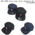 DOG TOWN ドッグタウン DT Cross Logo Color Snapback Hat