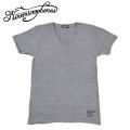 セール50%オフ NINE MICROPHONES ナインマイクロフォンズ VNECK S/S FACTORY Tシャツ