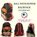 MISHKA ミシカ KILL WITH POWER BACKPACK