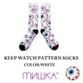 MISHKA ミシカ KEEP WATCHPATTERN SOCKS