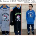 "セール20%オフ MxMxM MAGICAL MOSH MISFITS マジカルモッシュミスフィッツ I'm Doraemon ☆ MxMxM ""SKATE FOR FUN"" PARKA"