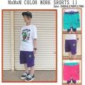 MAGICAL MOSH MISFITS マジカルモッシュミスフィッツ MxMxM COLORWORK SHORTS 11