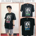 "セール MAGICAL MOSH MISFITS マジカルモッシュミスフィッツ LiSA x MxMxM ""MAGICAL MOSH LiSAFITS"" TEE"