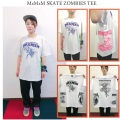 MAGICAL MOSH MISFITS マジカルモッシュミスフィッツ MxMxM SKATE ZOMBIES TEE