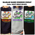 MAGICAL MOSH MISFITS マジカルモッシュミスフィッツ MxMxM GAME ZOMBIES SWEAT