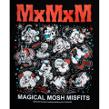 MAGICAL MOSH MISFITS マジカルモッシュミスフィッツ MxMxM SKATE ANIMALS TEE