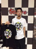 セール20%オフ MISHKA ミシカ LAMOUR ENDLESS BUMMER KEEP WATCH TEE