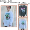 MxMxM MAGICAL MOSH MISFITS マジカルモッシュミスフィッツ RATFINK x MxMxM MAGICAL MOSH RATFINK SWEAT