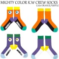 MISHKA ミシカ MIGHTY COLOR K.W CREW SOCKS