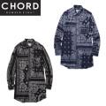 セール50%オフ CHORD#8 コードナンバーエイト BANDANA LONG SHIRT 長袖シャツ