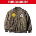 (先行予約)PUNK DRUNKERS パンクドランカーズ PAC-MA-1 KHAKI【17秋冬】10月末入荷予定
