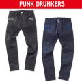(先行予約)PUNK DRUNKERS パンクドランカーズ BIKEパンツ【17秋冬】10月末入荷予定