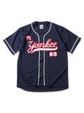 (先行予約)PUNK DRUNKERS パンクドランカーズ 元ヤンベースボールシャツ【18夏】5月入荷予定