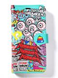 (先行予約)PUNK DRUNKERS パンクドランカーズ 手帳型スマホケース(大きいサイズ)【18夏】4月入荷予定
