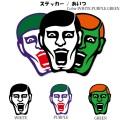 (先行予約)PUNK DRUNKERS パンクドランカーズ ステッカー / あいつ【19春】入荷予定
