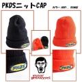 (先行予約)PUNKDRUNKERS パンクドランカーズ   PKDSニットCAP【18秋冬】11月入荷予定