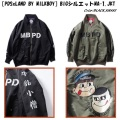 PUNK DRUNKERS パンクドランカーズ [PDSxLAND BY MILKBOY]BIGシルエットMA-1.JKT
