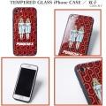 (先行予約)PUNK DRUNKERS パンクドランカーズ TEMPERED GLASSiPhone CASE 双子【19夏】4月下旬入荷予定