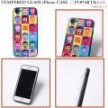 PUNK DRUNKERS パンクドランカーズ TEMPERED GLASSiPhone CASE POPARTあいつ