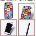 (先行予約)PUNK DRUNKERS パンクドランカーズ TEMPERED GLASSiPhone CASE POPARTあいつ【19夏】4月下旬入荷予定