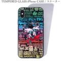 (先行予約)PUNK DRUNKERS パンクドランカーズ TEMPERED GLASS iPhone CASE スケーター【19年7月下旬】入荷予定