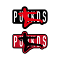 (先行予約) PUNK DRUNKERS パンクドランカーズ ステッカー/カンフー【20年8月】入荷予定