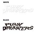 PUNK DRUNKERS パンクドランカーズ カッティングシート ギザロゴ
