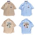 (先行予約) PUNK DRUNKERS パンクドランカーズ シークレットストライプシャツ【21年6月】入荷予定