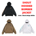ROLLING CRADLE ローリングクレイドル SHOUT HOODED BOMBER JACKET