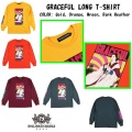 ROLLING CRADLE GRACEFUL LONG T-SHIRT