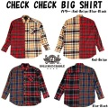 ROLLING CRADLE CHECK CHECKBIG SHIRT