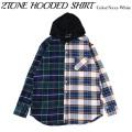 ROLLING CRADLE ローリングクレイドル 2TONE HOODED SHIRT