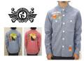 セール50%オフ ROLLING CRADLE ローリングクレイドル BARK AT THE MOON CHAMBRAY SHIRT 長袖シャツ