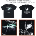 "ROLLING CRADLE ローリングクレイドル RCxWWE THE UNDER TAKER Tee ""DEAD MAN FOREVER"""