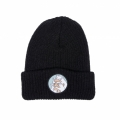 RIPNDIP リップンディップ NERM BEARD RIBBED BEANIE (BLACK)