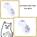 RIPNDIP リップンディップ Lord Nermal Ankle Socks (White)