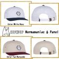 RIPNDIP リップンディップ Nermamaniac 6 Panel (Tan / Burgundy)