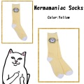 RIPNDIP リップンディップ Nermamaniac Socks (Yellow)