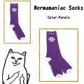 RIPNDIP リップンディップ Nermamaniac Socks (Purple)