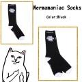 RIPNDIP リップンディップ Nermamaniac Socks (Black)