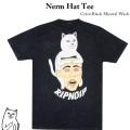 RIPNDIP リップンディップ Nerm Hat Tee GreyMineral Wash
