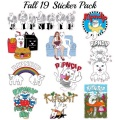 RIPNDIP リップンディップ Fall 19 Sticker Pack
