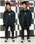 THRASHER スラッシャー HOMETOWN emb COACHJACKET