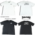 セール20%オフ THRASHER スラッシャー SKATE AND DESTROY POCKET T-SHIRT